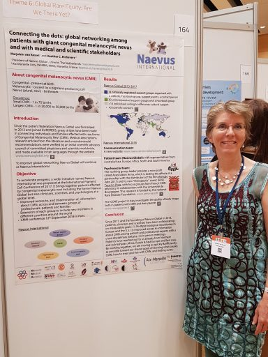 Présentation de Naevus International à Vienne en mai 2018